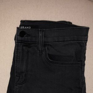 Dark wash straight leg J Brand jeans